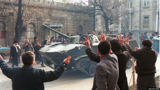 Baku, 20 januari 1990