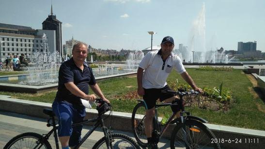 kazanda velosipedle