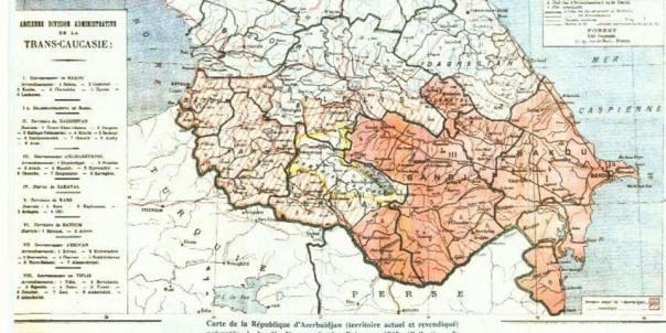 azerbajdzjan map