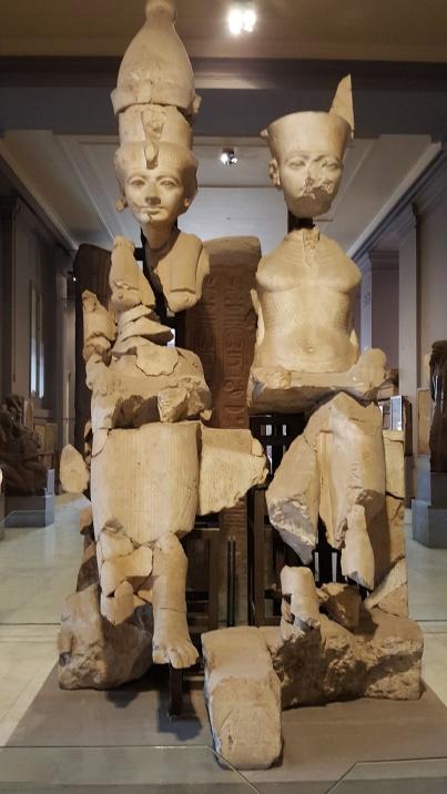 Amun Ra ve arvadi Mut