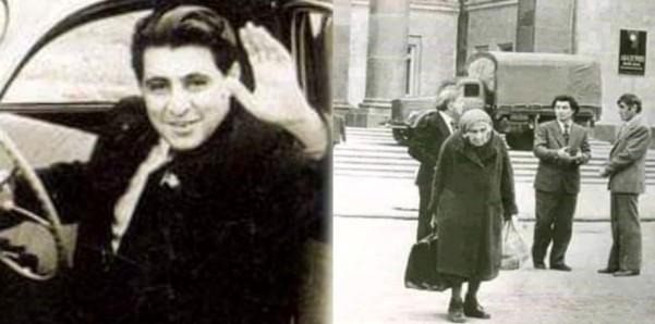 Sara xanim ve Nazim Haciyev