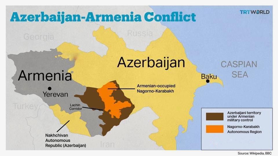 Om Karabach Konflikten Mellan Azerbajdzjan Och Armenien Arena Vahid Qazinin Bloqu